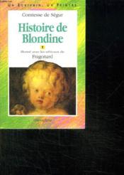 Histoire De Blondine - Couverture - Format classique