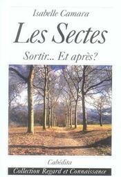 Les Sectes, Sortir...Et Apres? - Intérieur - Format classique