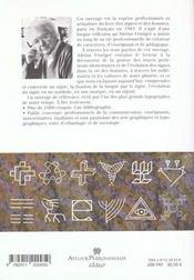 L'homme et ses signes ; signes, symboles, signaux - 4ème de couverture - Format classique