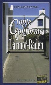 Copie conforme à Lamor-Baden - Couverture - Format classique