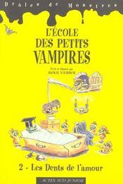 L'ecole des petits vampires t2- les dents de l'amour - Intérieur - Format classique