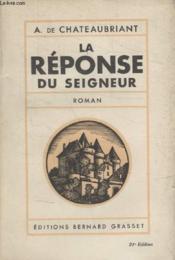 La Reponse Du Seigneur. - Couverture - Format classique