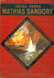 MATHIAS SANDORF, 1re PARTIE - Couverture - Format classique