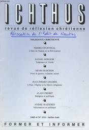 Revue De Reflexion Chretienne