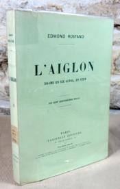 L'aiglon. Drame en six actes en vers. - Couverture - Format classique