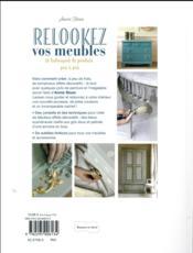 Relookez vos meubles - 4ème de couverture - Format classique