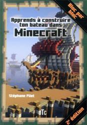 Apprends à construire ton bateau avec Minecraft - Couverture - Format classique