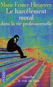 Le harcelement moral dans la vie professionnelle - Couverture - Format classique