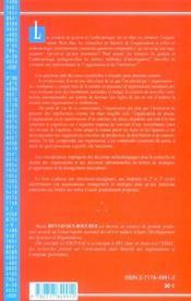 Anthropologie Et Gestion - 4ème de couverture - Format classique