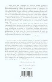 L'Algerie Des Premiers Hommes - 4ème de couverture - Format classique