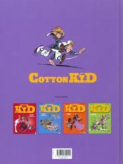 Cotton Kid t.5 ; la septieme femme de Géronimo - 4ème de couverture - Format classique