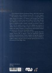 Jean-jacques henner, le dernier des romantiques - 4ème de couverture - Format classique