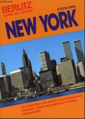 New York Guide Voyage - Couverture - Format classique