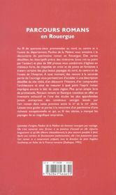 Parcours Romans En Rouergue - 4ème de couverture - Format classique