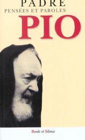 Pensees Et Paroles De Padre Pio - Intérieur - Format classique