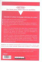 Parlez Vous Le Langage Du Corps ? - 4ème de couverture - Format classique
