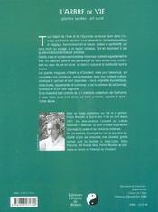 Arbre de vie (l') - 4ème de couverture - Format classique