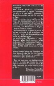 Alouette - 4ème de couverture - Format classique
