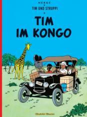 Tim und Struppi t.2 ; Tim in Congo - Couverture - Format classique