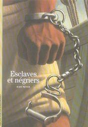 Esclaves et négriers - Intérieur - Format classique