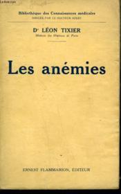 Les Anemies. - Couverture - Format classique