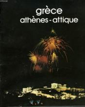 Grece. Athenes-Attique - Couverture - Format classique