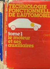 Technologie Fonctionnelle De L'Automobile Cap/ Bep, En 2 Tomes. - Couverture - Format classique