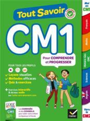 Tout savoir ; CM1 - Couverture - Format classique