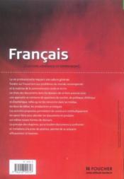 Francais bts - Couverture - Format classique