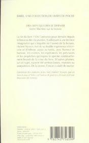 Lira Bien Qui Lira Le Dernier Babel 705 - 4ème de couverture - Format classique