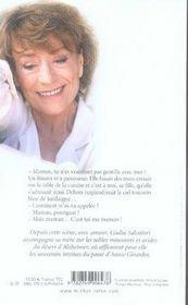 Annie girardot ; la mémoire de ma mère - 4ème de couverture - Format classique