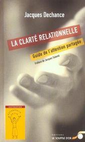 Clarte relationnelle (la) - Intérieur - Format classique