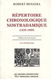 Repertoire chronologique - Couverture - Format classique