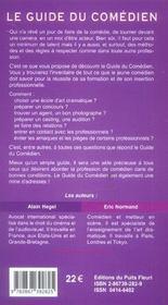 Guide du comédien (9e edition) - 4ème de couverture - Format classique