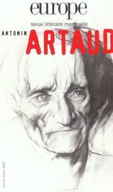 Revue Europe N.874 ; Antonin Artaud - Intérieur - Format classique