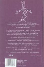 Le Bottin Gourmand (Edition 2007 - 4ème de couverture - Format classique