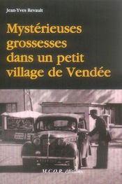 Mysterieuses Grossesses Dans Un Petit Village De Vendee - Intérieur - Format classique