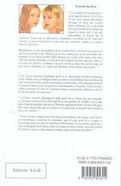 Journal intime de gosia - 4ème de couverture - Format classique