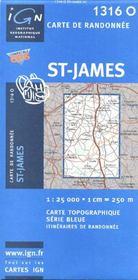 St-James - Couverture - Format classique