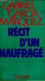 Recit D Un Naufrage. - Couverture - Format classique