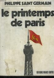 Le Printemps De Paris. - Couverture - Format classique