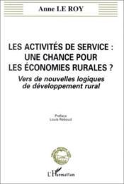 Activites De Service : Une Chance Pour Les Economies R - Couverture - Format classique