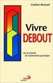 Vivre Debout - Couverture - Format classique