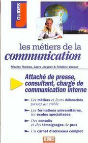 Metiers de la communication (les) - Intérieur - Format classique