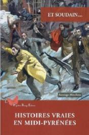 Histoires vraies en Midi-Pyrénées - Couverture - Format classique