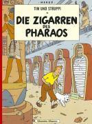 Tim und Struppi t.4 ; die zigarren des pharaos - Couverture - Format classique