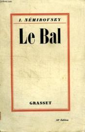 Le Bal. - Couverture - Format classique