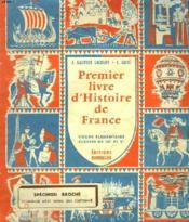 PREMIER LIVRE D'HISTOIRE DE FRANCE. COURS ELEMENTAIRE. CLASSE DE 10e ET 9e. SPECIMEN BROCHE. - Couverture - Format classique