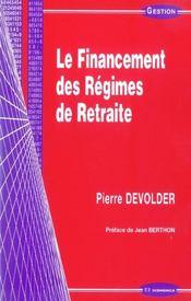 Financement des regimes de retraite (le) - Intérieur - Format classique