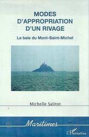 Modes D'Appropriation D'Un Rivage ; La Baie Du Mont-Saint-Michel - Intérieur - Format classique